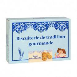 Sablés Poire Chocolat -Boîte carton 300g