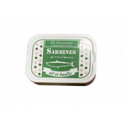 Sardines à l'ail et au basilic